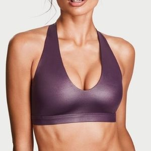 Victoria's Secret High Shine Racerback Sport Bra
